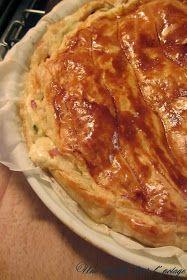 Tourte aux blettes et au reblochon Legume Bio, Le Diner, Lasagna, Pizza, Ethnic Recipes, Quiches, Food, Brick, Salty Tart