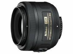 Amazon.com: Nikon 35mm f/1.8G AF-S DX Lens for Nikon Digital SLR Cameras: NIKON: Camera & Photo