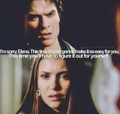 Damon & Elena 3x19 Heart of Darkness (still my favorite episode)