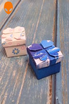 diy box Gift Box Origami For Christmas - DIY Tutorials Videos Diy Origami, Paper Crafts Origami, Paper Crafting, Diy Paper Box, Origami Gift Box, Origami Envelope, Diy Gift Box, Diy Crafts Hacks, Diy Crafts For Gifts
