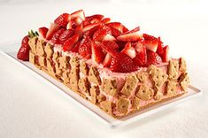 Double-Strawberry Mousse Recipe...I'm thinking maybe make it chocolate mousse topped with strawberries?