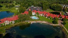 Main Lodge Hotel Of Boyne Highlands Resort In Harbor Springs Michigan