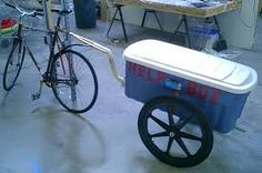 Image result for bicycle trailer
