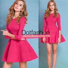 2014 Summer Latest Designs Women's Brand Celebration Slim Fashion Red  Ruffle Elegance Dress For Party