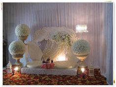 Wedding Stage Decors Floral Wedding Decorations, Wedding Crafts, Wedding Backdrops, Arab Wedding, Elegant Wedding, Wedding Altars, Red Carpet Event, Event Design, Wedding Inspiration