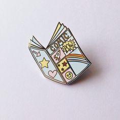 Pin esmalte de cómic insignia pin de solapa pin pin por MightyPop