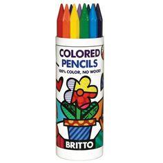 Britto Hexagon Colored Pencils