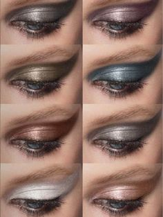DIOR Diorshow Fusion Mono Eyeshadow Swatches - Mystical Metallics Collection Fall 2013