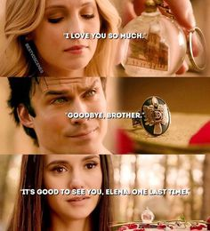 The last thing Stefan said to each of them