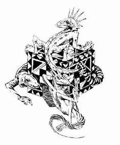 Thief Tattoo Design
