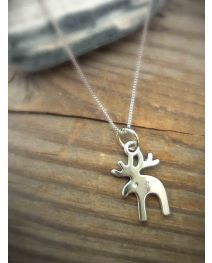 Free Ship 240 Pieces Tibetan Silver Moose Charms 18X15Mm 222 ebay