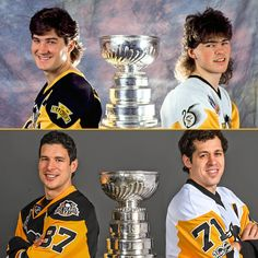 Love this!!! Mario and Jagr and then Crosby and Malkin!! ❤️❤️