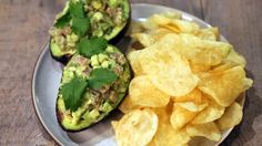 Tuna Tartare-Stuffed Avocado Recipe | The Chew - ABC.com