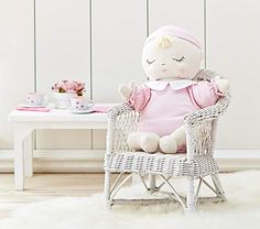 Pottery Barn Kids Soft Baby Doll Cora