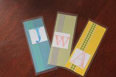 Serving Pink Lemonade: Gifts Kids Can Make: Simple Bookmarks