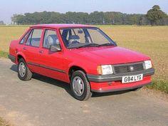 Vauxhall Nova Saloon.  The worlds ugliest car