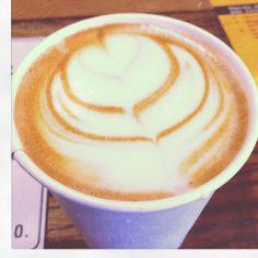 Dogwood coffee cappuccino pretty