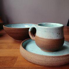 Julie Inada - mug and bowl