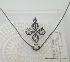 DIY Wigjig Pattern: Cross Wire Frame