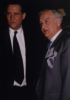 An amazing find: Jeremy Brett and John Thaw.