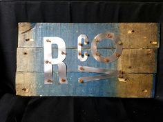 Pallet wood, Aluminium, Renaissance  Covington
