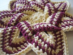 Tutorials for several crochet potholders