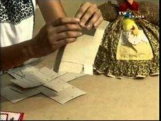 Cartonagem-caixa costura