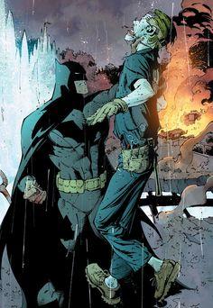 Batman and the Joker by Greg Capullo