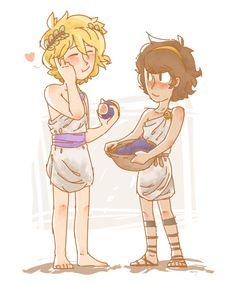 The son of Achilles | It looks like Solangelo so much!!!