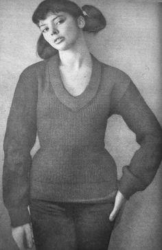 Barbara Kwiatkowska (Lass) by Wojciech Plewiński, 1959