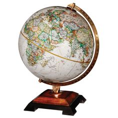 Looking for a great gift for your favorite disney fanatic the this world map by replogle globes features a hardwood two tone base reminiscent of the gumiabroncs Choice Image