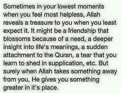Because of His mercy Alhamdulillh.