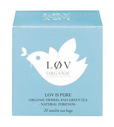 Løv is Pure 20 Muslin Tea Bags Løv Organic