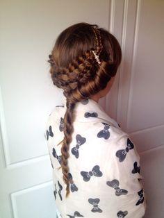 Greek style, cute hairdo