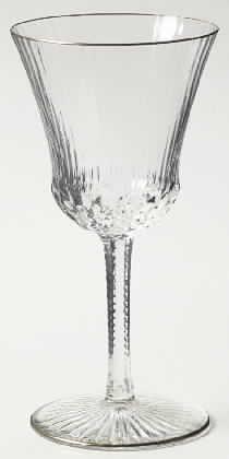 Mikasa Crystal Briarcliffe Crystal Stemware Pattern I Ve