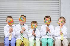 Aww...so adorable! Heather Telford Photography. Photo Session Ideas | Props | Prop | Child Photography | Clothing Inspiration| Fashion | Pose Idea | Poses | Family | Siblings | Cousins | Grandchildren | Boys | Brothers | Friends