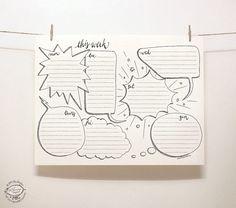 DOODLE Perpetual Weekly Planner: Blurbs / Organizer  von SkyGoodies