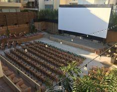 Θερινό σινεμά ΑΡΙΑΝ Outdoor Cinema, Under The Stars, Athens, Summer, Summer Time, Drive Thru Movie Theater, Outside Movie, Athens Greece