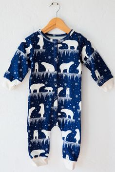 winter water factory polar bear jumpsuit – Lost & Found