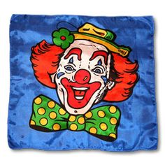 Magic By Gosh Happy Clown Production Silk (18 inch)