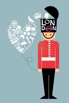 I Left My Heart In London by Bonjour Berry