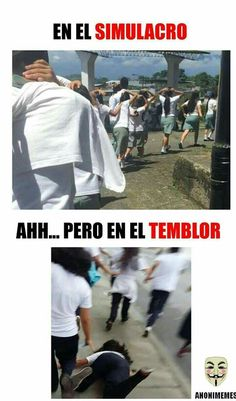 Memes del temblor, memes imagenes graciosas - Top Tutorial and Ideas Funny Spanish Memes, Spanish Humor, Stupid Funny Memes, Hilarious, Funny Images, Funny Photos, Mexican Memes, Shrek, Tutorial