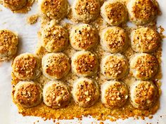 This Two-Bite Parmesan Biscuits recipe gets its flavor from a touch of sugar and buttermilk. Get the recipe from Food & Wine. Easy Holiday Recipes, Great Recipes, Favorite Recipes, Easy Recipes, Brunch Recipes, Wine Recipes, Festive Bread, Cheesy Crust, Holiday Ham