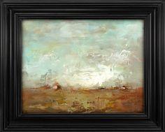Pintura al óleo de 6 x 8  ORIGINAL  paisaje  sin por BrunoMCarlos