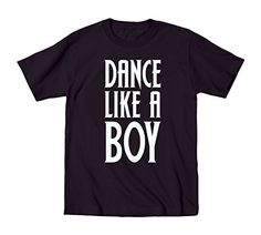 Dance Like A Boy Fun Trendy Dancer  Toddler TShirt  Black  3T -- To view further for this item, visit the image link.Note:It is affiliate link to Amazon.