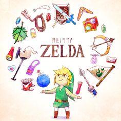The Legend of Zelda: Wind Waker / Link / 「旅の助け」/「ろく」の漫画 [pixiv]