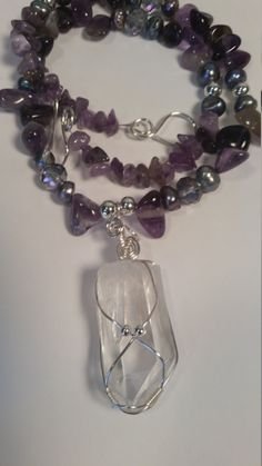 Shop for on Etsy, the place to express your creativity through the buying and selling of handmade and vintage goods. Wire Jewelry, Unique Jewelry, Freshwater Pearl Necklaces, Arkansas, Fresh Water, My Etsy Shop, My Arts, River, Sculpture