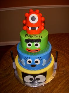 Yo Gabba Gabba -  Thanks to the cakes on here for inspiration!