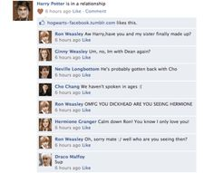 Facebook, good for all the Drarry!