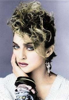 "Photo of Madonna ""Eric Watson"" Photoshoots for fans of Madonna 25386835 Madonna Fashion, 80s Fashion, 1980s Madonna, Madonna Mode, Lady Madonna, Old Posters, Madonna Pictures, Divas, La Madone"